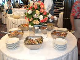 round table buffet time choice image table decoration ideas