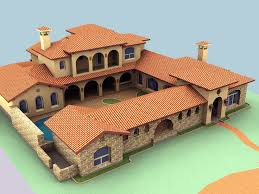 26 best hacienda house plans images on mexican ranch style