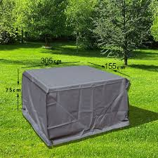 covers for lawn furniture. Awesome Of Waterproof Patio Furniture Covers In Center Placed On Green Grass With Grey Color For Lawn