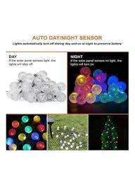 Batteries For Solar Christmas Lights Shop Generic 30 Led Solar Christmas String Lights Multicolour Online In Dubai Abu Dhabi And All Uae