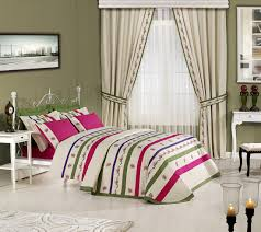 Nice Bedroom Curtains Bedroom Decorating Charming Home Interior With Nice Brown