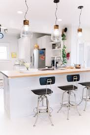 Kitchen islands with breakfast bar Attractive Jessicas Vintage Modern Nashville Home Apartment Therapy Gallery Of Kitchen Island Breakfast Bar Ideas Inspiration