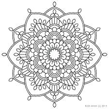 Color Mandala Coloring Pages Free Coloring Beautiful Page