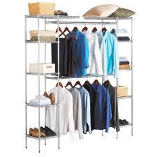 ultrazinc expandable closet organizer system by seville classics com
