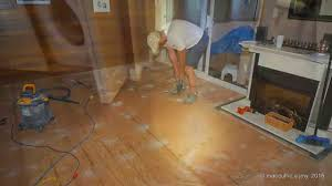 cork flooring installation on a concrete slab you