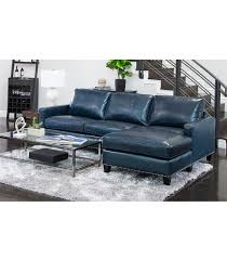 navy blue leather couch. Brilliant Couch Landis Leather Sectional Navy Blue Inside Couch E