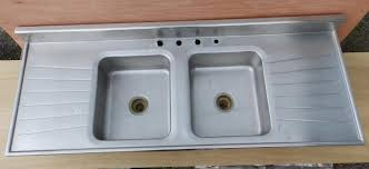 stainless steel sink with drainboard roselawnlutheran