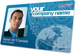 employee badges online printed id card no minimum order gdpr compliant
