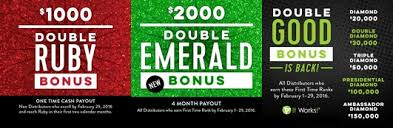 it works diamond bonus one 2016 wrap up