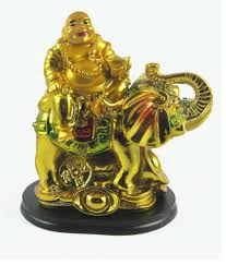 Odishabazaar Feng Shui Laughing Buddha On A Elephant