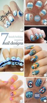 7 Amazing Beach Nails | Beach nail art and Nail nail
