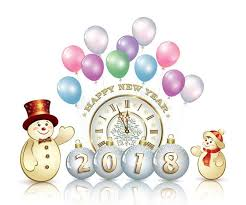 Image result for Clipart-New Year's 2018