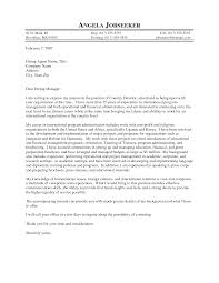 Resume Example Insurance Executive Example Of A Cover Letter Best
