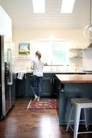 I log many hours at the kitchen sink and this rug makes my time there feel  a little more special. How can a rug do that?