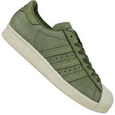adidas khaki trainers. image is loading adidas-originals-superstar-80s-suede-by2506-trainers-shoes- adidas khaki trainers