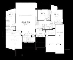 image for norcutt contemporary plan with a glass floor lower floor plan