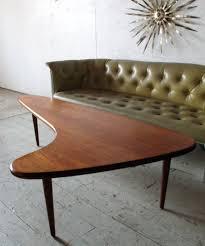 coffee table mid century modern oval coffee table adrian