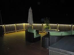 deck and balcony design with led lighting traditional verandah