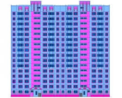 Скачать бесплатно дипломный проект ПГС Диплом № ти  Диплом №2006 16 ти этажный 2 х секционный жилой дом в г Рязань