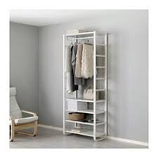 ELVARLI Shelf Unit White  Ikea