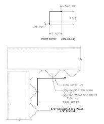 inside corner details