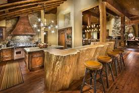 rustic cabin kitchens. Rustic Cabin Kitchen Design With Lo. Kitchens Y