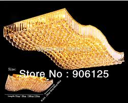 kinds of lighting fixtures. aliexpresscom buy wave shape gold crystal ceiling light fixtures living room flush mount 4 kinds of size guaranteed 100free shipping from lighting