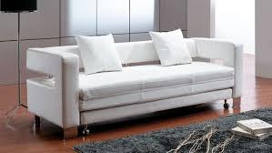 leather sleeper sofa. Enchanting White Leather Sleeper Sofa Latest Home Design Trend 2017 With Baijou