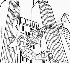 Spiderman coloring pages for boys free. Printable Spiderman Coloring Pages For Kids