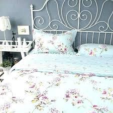 duvet sets royal style cotton blue fl cover bed sheet set limited quilt ikea comforter covers