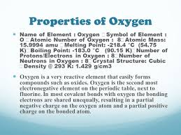 The Element: Oxygen By Mary Ann Estafanous. - ppt download