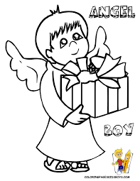cool coloring pages to print christmas   free   kids christmas    christmas angel boy printable at yescoloring  advertisement  coloring sheets