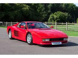 1986 ferrari testarossa for sale ferrari classiche red book certified, books, tools, records lmc is very proud to offer for sale this 1986 ferrari. Pin On Ferrari 512 Testarossa