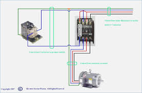 3 Phase Motor Wiring Diagram Control square d 3 phase motor starter wiring diagram
