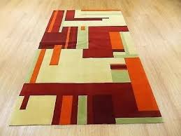 orange and green area rugs yellow rug
