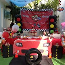 Cars Party Decorations Cars Party Balloon Decorations Dessert Table Balloons Arch