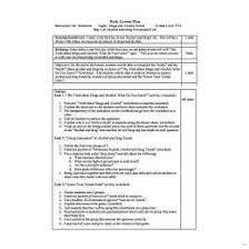 Single Subject Lesson Plan Template Single Subject Lesson Plan Template 510031601295 One Day Lesson