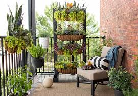 grow vertically in small spaces this small balcony garden