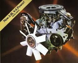 ford ranger bronco ii 2 8 liter engines