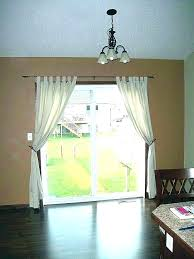 curtains for sliding glass doors curtain door height average sl