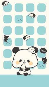 Iphone wallpaper girly, Cute panda ...