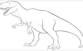 Più Adatto Per I Bambini Dinosauro Rex Da Colorare Disegni Da