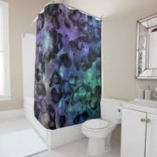 purple and blue shower curtains.  Curtains Purple Blue N Teal Abstract Bubbles Shower Curtain Throughout And Curtains T