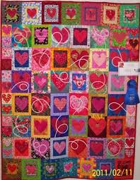 316 best heart quilts images on Pinterest | Heart, Patterns and ... & I love the white bias tubes embroidered onto some of these hearts (at least  I think that's how those white swirls are made. Adamdwight.com