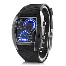 men 039 s fashion black stainless steel luxury sport analog image is loading men 039 s fashion black stainless steel luxury