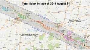 2017 Solar Eclipse Chart Total Eclipse Of The Sun August 21 2017