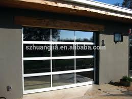 clear garage doors glass roller door insulated
