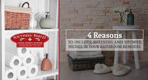 bathroom design center 4. 4-reasons-to-include-shelving-and-shower-niches- bathroom design center 4