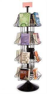 Revolving Display Stands Revolving Book Racks 100 Pocket Floor Standing Display 76