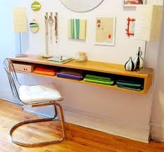 desk small office space desk. No Room For A Full-blown Office? Wall-mounted Desks Are The Way Desk Small Office Space E